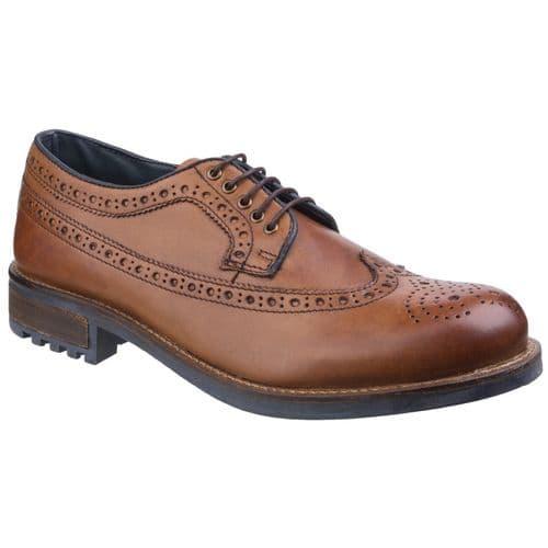 Cotswold Poplar Lace Mens Shoes Tan